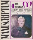 Manuscriptum 4/1980