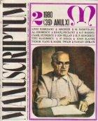 Manuscriptum (2/1980)