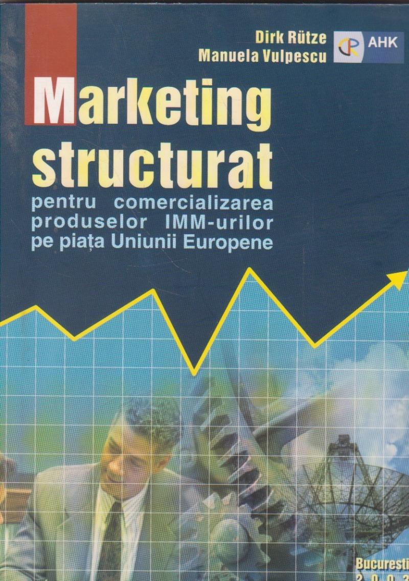 Marketing structurat pentru comercializarea produselor IMM-urilor pe piata Uniunii Europene