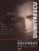 Marturie document Volumul (trei parti