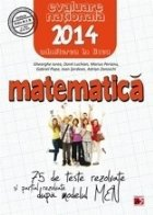 MATEMATICA EVALUAREA NATIONALA 2014 TESTE