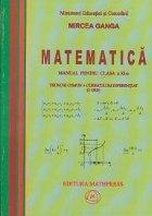 Matematica - manual pentru clasa a XI-a (trunchi comun si curriculum diferentiat) (3 ore, editie 2006)