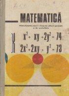 Matematica. Manual pentru anul I - Licee de cultura generala si de specialitate