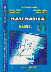 Matematica. Manual pentru clasa a XI-a. Programa M1-M2