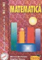 Matematica Manual pentru clasa (M1