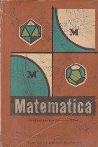 Matematica, Manual pentru clasa a VIII-a