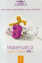 Matematica pentru clasa VIII semestrul