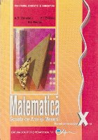 Matematica - Scoala de Arte si Meserii, Manual pentru clasa a X-a