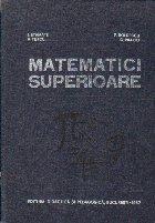 Matematici Superioare