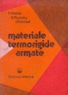 Materiale termorigide armate
