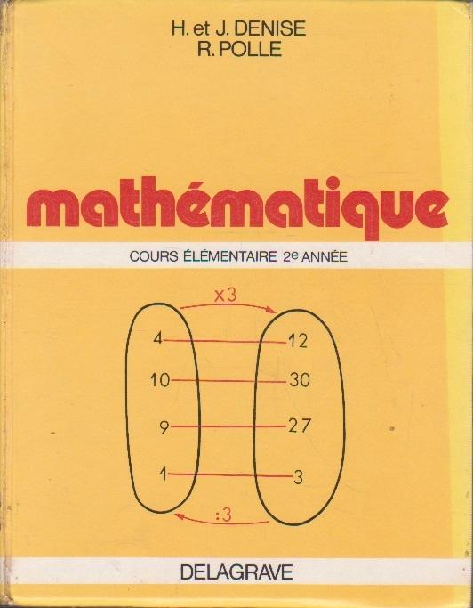 Mathematique - Cours Elementaire 2e Annee