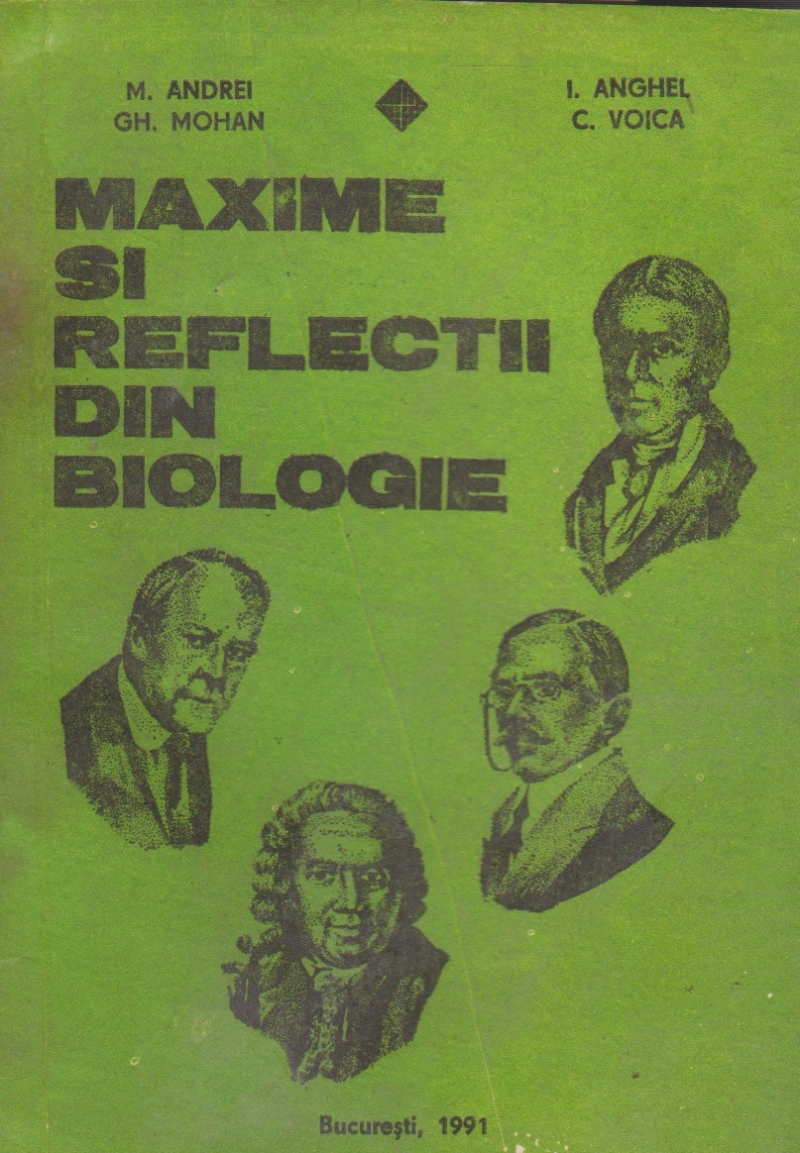Maxime si reflectii din biologie