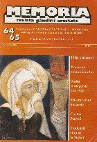 Memoria - revista gandirii arestate, nr. 64-65/2008
