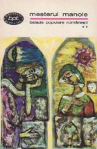 Mesterul Manole - Balade populare romanesti, Volumul al II-lea