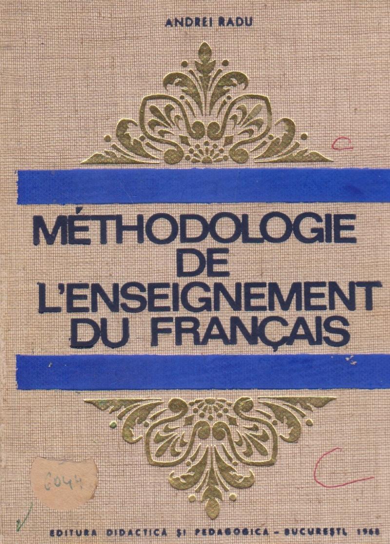 Methodologie De L'Enseignement Du Francais