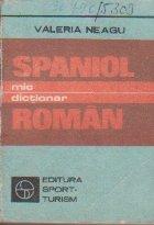 Mic Dictionar Spaniol - Roman