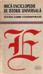 Mica enciclopedie istorie universala Statele