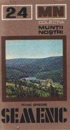 Muntii Semenic - Ghid turistic