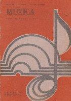 Muzica Manual pentru clasa VII