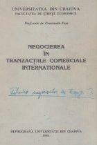 Negocierea tranzactiile comerciale internationale