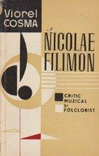 Nicolae Filimon Critic muzical folclorist