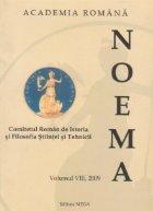 NOEMA Comitetul Roman Istoria Filosfia