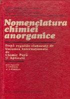 Nomenclatura chimiei anorganice