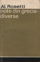 Note din Grecia. Diverse