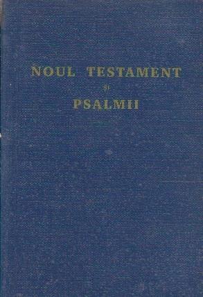 Noul Testament cu Psalmii