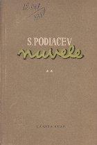 Nuvele si Povestiri, Volumul al II-lea (S. Podiacev)