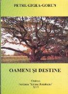 Oameni si Destine (Cu dedicatia autorului)
