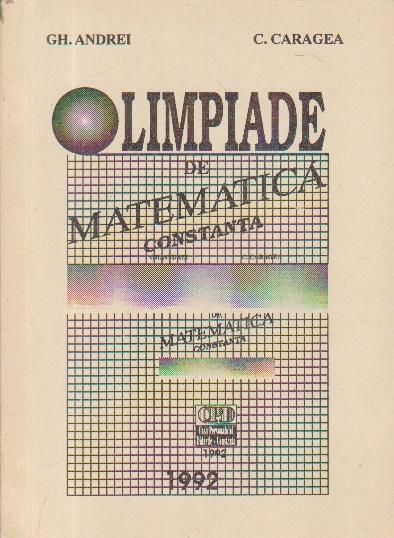 Olimpiade de matematica Constanta
