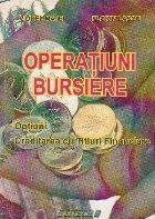 Operatiuni bursiere