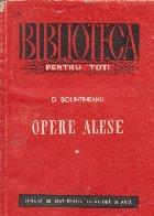 Opere alese (Bolintineanu), Volumul I