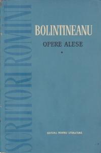 Opere alese, Volumul I - Poezii (Bolintineanu)