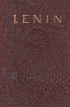 Opere Lenin Volumul Aprilie decembrie