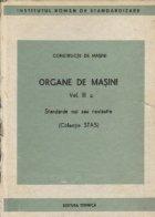 Organe masini Volumul III Standarde