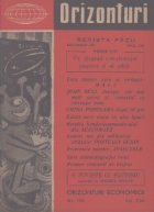 Orizonturi - Revista Pacii, Decembrie 1959