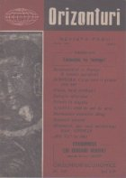 Orizonturi - Revista Pacii, Martie 1961