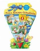 Pachet Pixi in limba germana pentru copii - Pixis Riesen-Schultuete. 8 Pixi + 5 Lustige Schulanfangspiele
