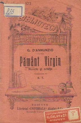 Pamant virgin - Nuvele si schite