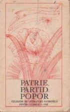 Patrie, partid, popor
