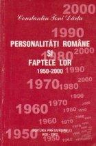 Personalitati romane si faptele lor 1950-2000, Volumul al III-lea