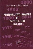 Personalitati romane faptele lor 1950