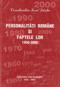 Personalitati romane si faptele lor, 1950-2000, Volumul al IV - lea