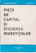 Piete de capital si eficienta investitiilor