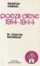 Poezii alese 1914 1944 selectia