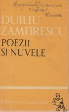 Poezii nuvele (Duiliu Zamfirescu)