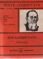 Povestiri - Ion Agarbiceanu (Texte comentate)