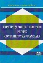 Principii si politici europene privind contabilitatea financiara
